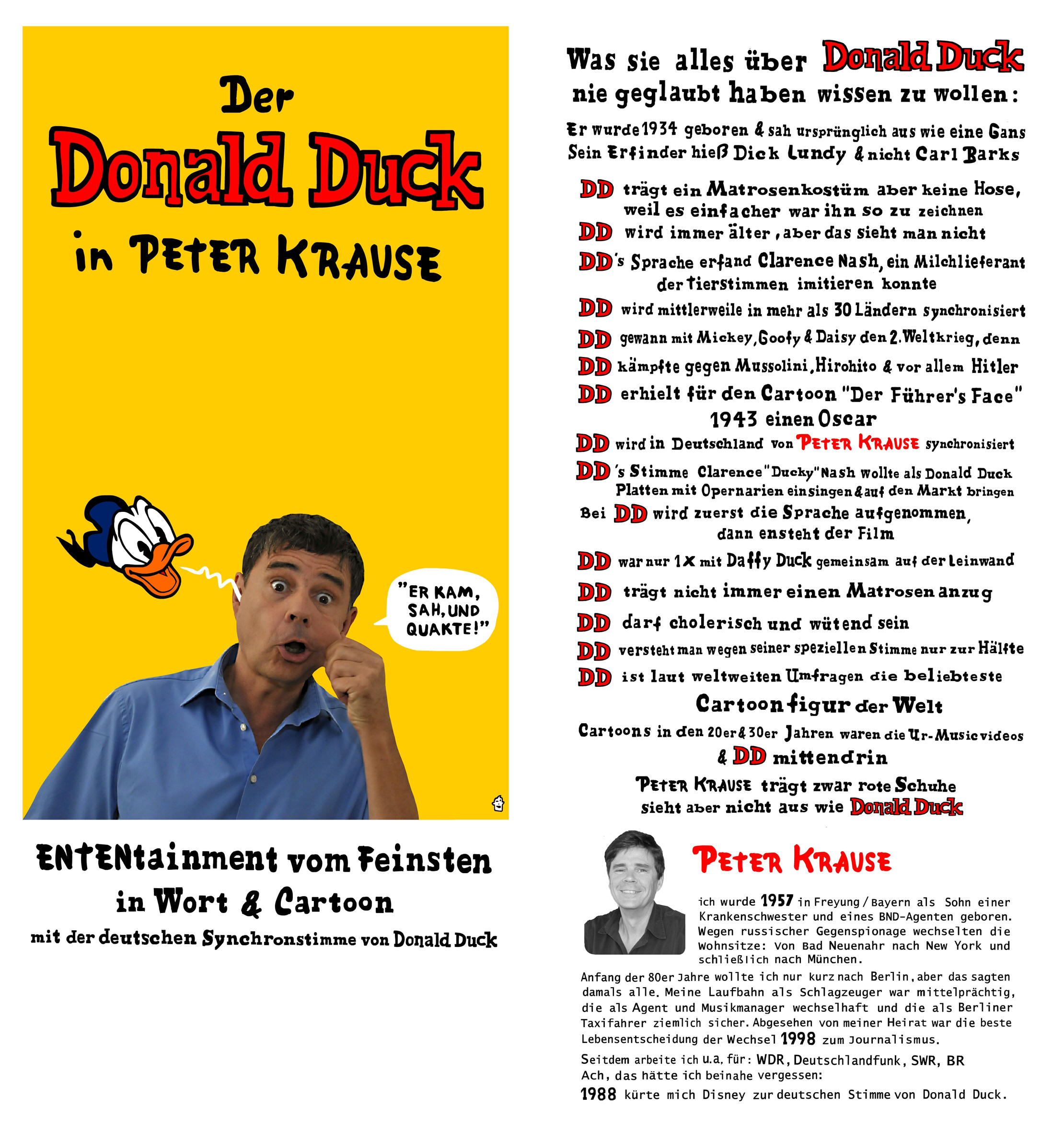 Donadl Duck - Peter Krause